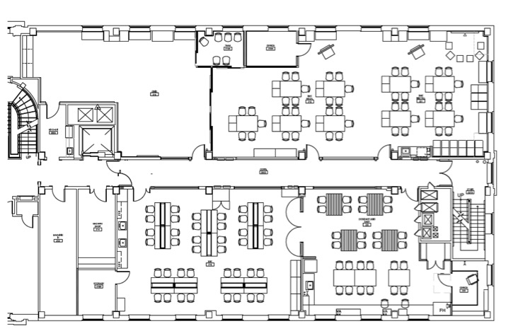 A blue print of the Design Studio shows the layout of the different rooms.